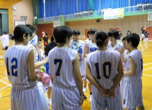 バスケット試合