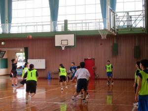 女子バスケ1