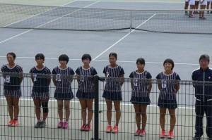 女子テニス10.17①