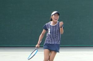 女子テニス10.17④